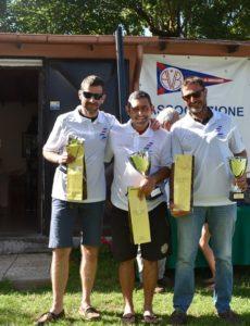 podio regata nazionale contender a bracciano 2019