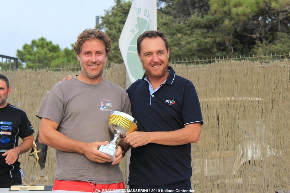 Antonio Lambertini campione italiano contender
