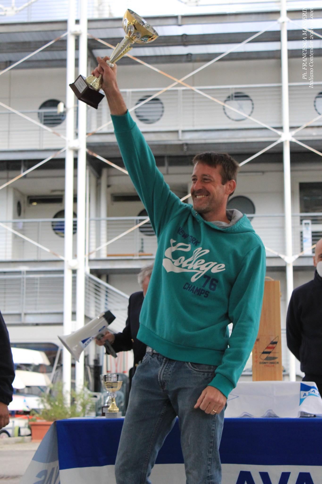 Marco Ferrari vincitore del Campionato Italiano Contender 2020